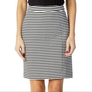 41 Hawthorn Striped Pencil Skirt | Size Medium